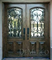 front double doors custom s fiberglass entry with exterior without glass