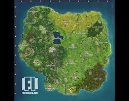 Vending Machine Near Me New Vending Machine Locations In Fortnite Map Update Areas Revealed For