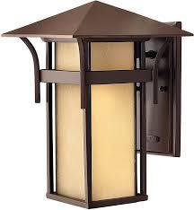 hinkley 2574ar harbor outdoor wall sconce lighting 60 total watts bronze wall porch lights com