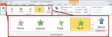 How To Add Animation To Chart In Powerpoint Animate Text Or Objects Office Support