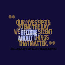 Martin Luther King Jr Quote About Matter