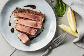 e rubbed seared tuna