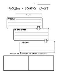 story elements worksheet problem and solution story elements bie problem solution graphic organizer