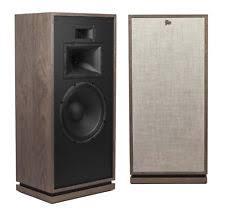 klipsch forte 3. klipsch forte iii distressed white oak (pair) tower speakers - open box 3