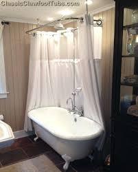 clawfoot bathtub shower enclosure freestanding shower enclosures free standing showers