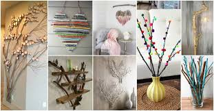 tree branches decor ideas new of branch wall diy