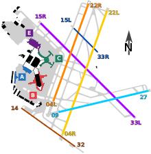 Sfo Runway Chart Logan International Airport Wikipedia