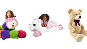 jumbo stuffed dog pink alley s from just dollar toys r us