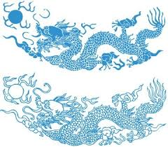 Dragon Pattern Inspiration Dragon Pattern Vector Free Vector In Adobe Illustrator Ai Ai
