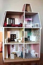 Homemade dollhouse furniture Cute Dollhouse Furniture Diy Build Dollhouse From Hobby Lobby Wallpaper Is Scrapbook Paper Furniture Also From Mumbly World Dollhouse Furniture Diy Build Dollhouse From Hobby Lobby Wallpaper