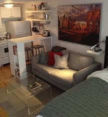 Tiny Studio Apartment Design Impressive Decorating