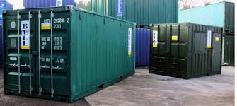 Green 20ft Storage Container