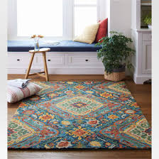 red and turquoise area rug awesome 13 rugs to add life to your apartment