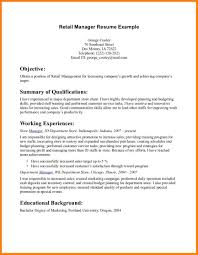 5 Clothing Store Resume Sample Graphic Resume
