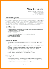 Babysitter Resume Sample Lofty Babysitter Resume Sample Nanny