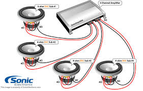 wiring diagram for dual 4 ohm subwoofer wiring auto wiring rockford fosgate r2d4 10 500w peak 10 prime stage 2 dual 4 ohm on wiring diagram