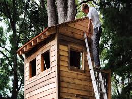 single tree house plans luxury 40 unique diy treehouse plans free