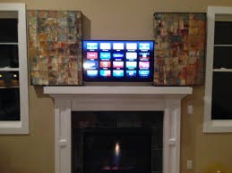 How To Hide Tv How To Hide A Tv With Some Artwork For 130 Album On Imgur