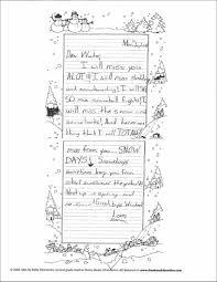 student sle dear spring letter student sle dear winter letter