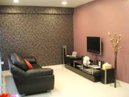 Living Room Wall Colour Painting Living Room Walls Innovative Dark Red Tone For Modern