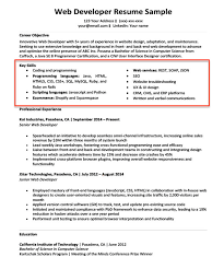 Examples Of Qualifications For Resumes Skills In Resume Samples Magdalene Project Org