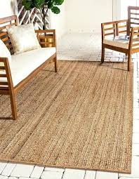 main image of rug 8x10 braided rugs natural jute area