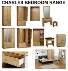 dressing room furniture. Image Is Loading NEW-Charles-Oak-Bedroom-Furniture-Units-Large-Wardrobe- Dressing Room Furniture