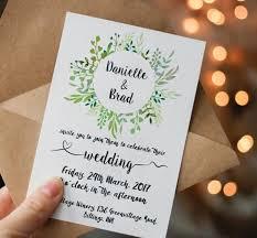 Invitation Downloads Unique Printable Green Wedding Invitation Printable Greenery Wedding