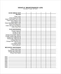 Machine Maintenance Log Template Maintenance Log Template 11 Free Word Excel Pdf Documents