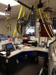 office halloween decorations scary. Explore Haunted Cubicle With Phenomenal Halloween Decorating Ideas For Office Design And Decorations Scary