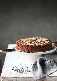 Eggless Chocolate Cake Chocolate Sesame Cake