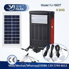 Yj1963ht Yajia Small Mini Portable Led Lighting Solar Power Solar Powered Lighting Systems