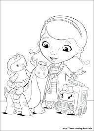 Dr Mcstuffins Free Coloring Pages For Doc Printable Color Sheets