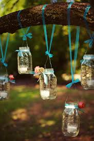 Small Picture Simple DIY Mason Jar Candle Holders Hanging Trees For Outdoor