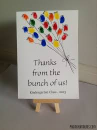 Thank You Card From Class Cute For A Group Get Well Card Or To