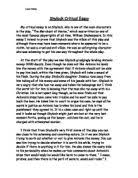 critical essay merchant of venice gcse english marked by  shylock critical essay