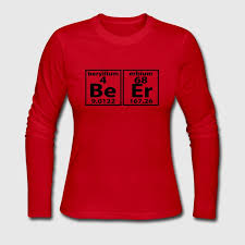 THE BEER ELEMENT PERIODIC TABLE Long Sleeve Shirt | Spreadshirt
