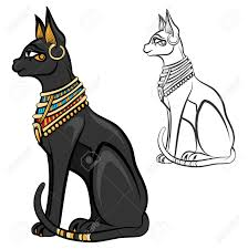 Image result for chat noir In Egypt