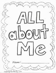 Small Picture All About Me Book Free Printables 1st grade Pinterest