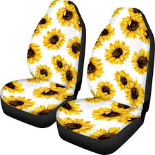 sunflower car seat covers