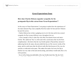 great expectations essay gcse english marked by teachers com document image preview