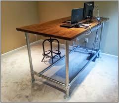 plans for standing desk diy lift on decor 13