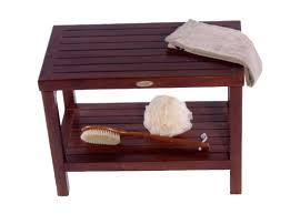 Room Bathroom Bench Seat Ikea White With Storage Wood.