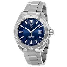 tag heuer aquaracer blue sunray dial men s watch way1112 ba0928 tag heuer aquaracer blue sunray dial men s watch way1112