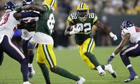 Green Bay Packers Roster Depth Chart Packers Rookie Rb Dexter Williams Still Trailing Tra Carson