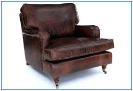 small leather chair. Brown Leather Wingback Chair Small Antique .