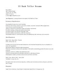 Resume Skills For Bank Teller Mesmerizing Resume Bank Teller Resume Bank Teller Resume Skills And