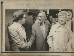 1974 Press Photo Representative Wilbur Mills & Wife Polly Win | Historic  Images