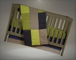 trend lab 3 piece crib bedding set perfectly preppy