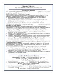 Resume Template Step Builder Operation Manager Thumb For What